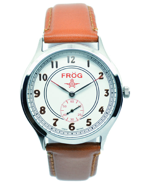 FV08 WHITE LEATHER 41 mm