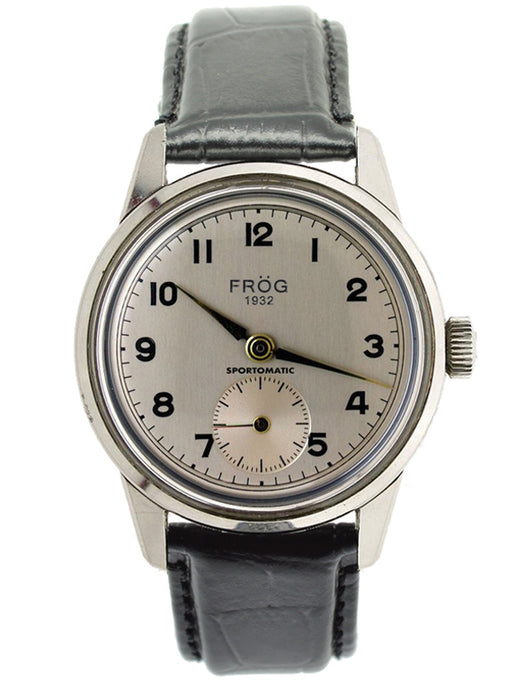 FV21 SILVER LEATHER 41 mm