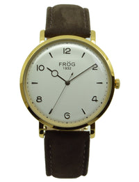 FV25 GOLD CREAM LEATHER 40 mm