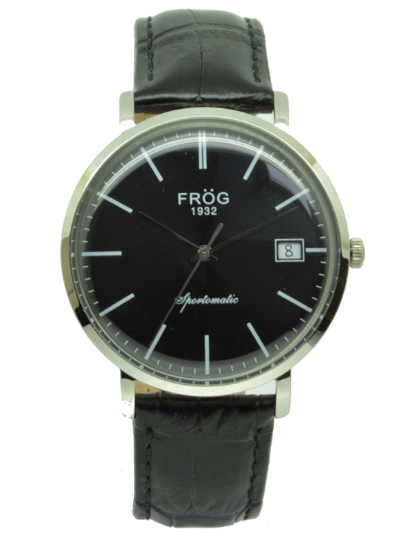 FV26 BLACK LEATHER 40 mm