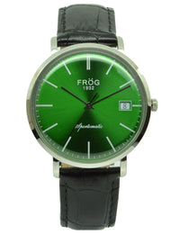 FV26 GREEN LEATHER 40 mm