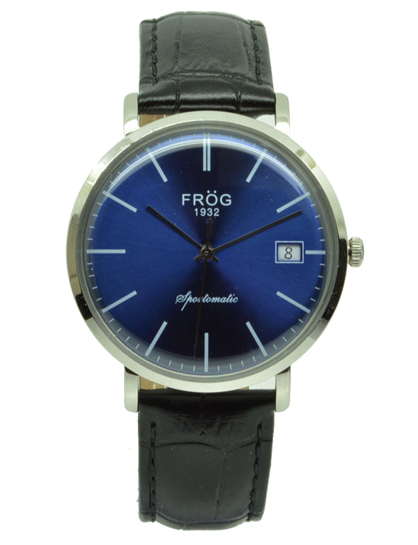FV26 NAVY LEATHER 40 mm