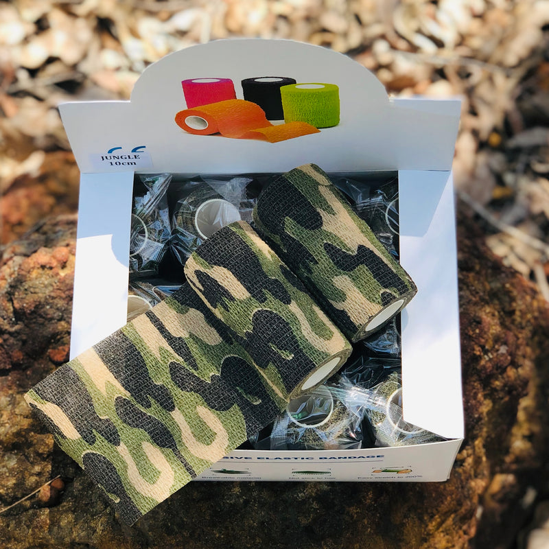 VET-COFLEX CAMO 10cm x 4.5m (Pack of 12)