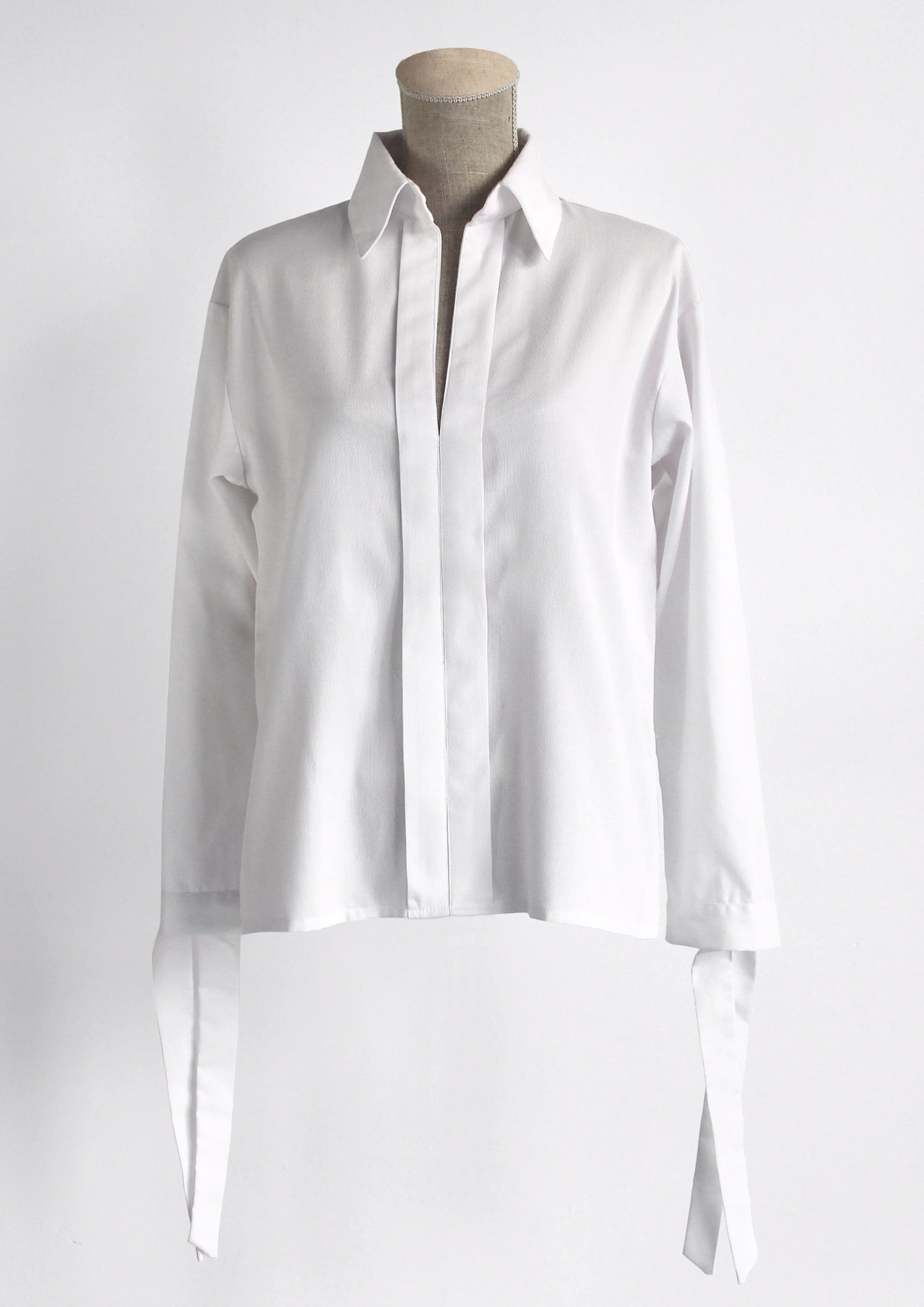 Bastet white oversized shirt