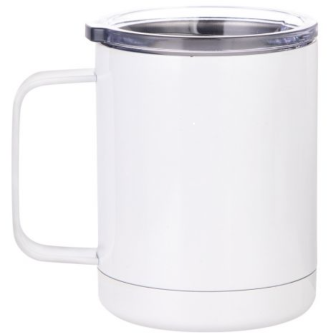 10oz Stainless Steel Mug with Lid