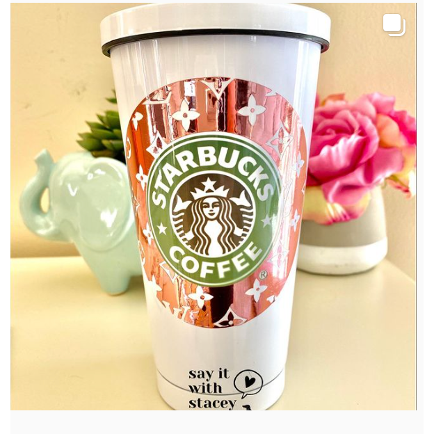 Starbucks Double Wall Insulated Custom Tumbler