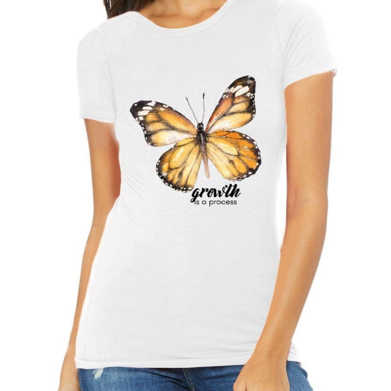 Growth is a process 🦋 Tee
