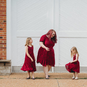 Mommy & Me Lace Dress