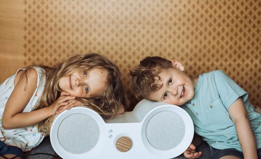 Babbit kids speaker encourages to develop unique taste in music.