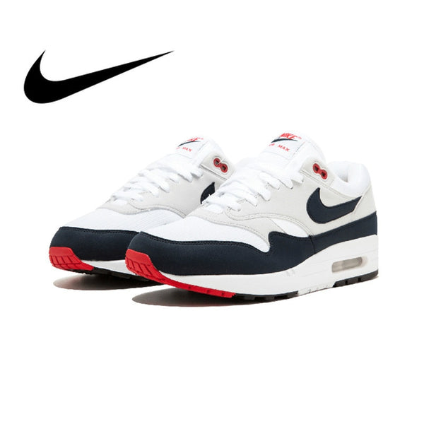 8d41da866357e Original New Arrival Authentic Nike AIR MAX 1 ANNIVERSARY Mens Running  Shoes Good Quality Sneakers Sport