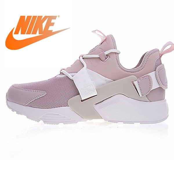 on sale 92e12 de913 Original Nike AIR HUARACHE CITY LOW Women s Running Shoes Sport Outdoor  Sneakers New arrival 2019 Athletic