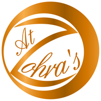 logo at zohra's - format rond