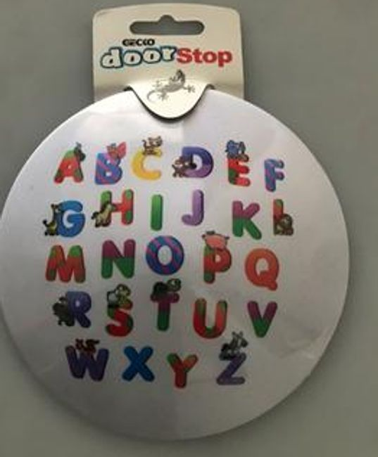 ABC theme Door Stopper for Kids Room