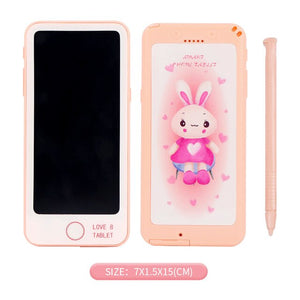 Drawing Phone Toys for Kids LCD Drawing Board Children Draw Tablet Scratch Painting Toy with Anti-erase