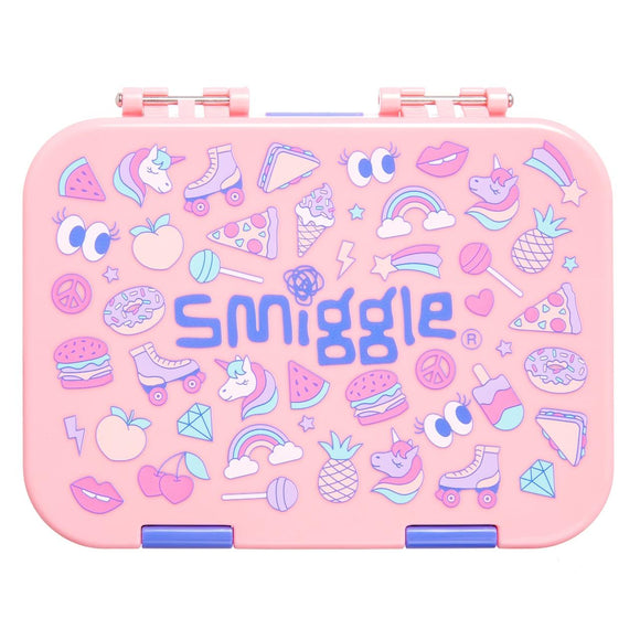 Smiggle Lunch box 4c small bento box