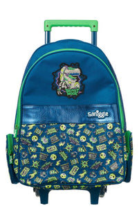 Smiggle Express Trolley Backpack With Light Up Wheels