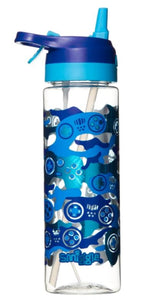 Smiggle Viva Spritz Flip Spout Drink Bottle Blue