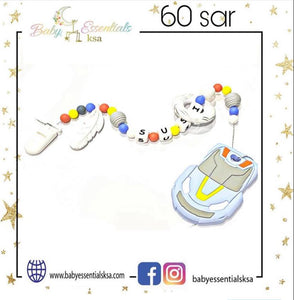 Teething Pacifier Clips