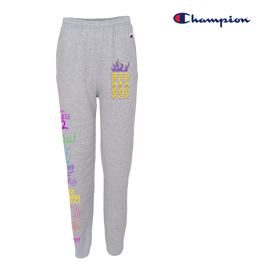 Phrases Blesiv x Champion Sweats