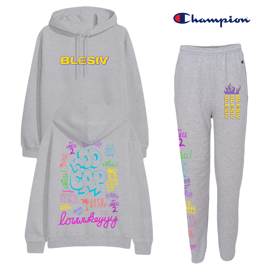 Phrases Blesiv x Champion Sweatsuit