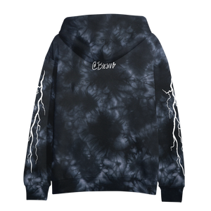 Better Days Black Tie Dye Hoodie