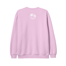 Load image into Gallery viewer, Better Days Embroidered Pink Crewneck