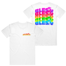 Load image into Gallery viewer, 3D BLESIV Lights White Tee