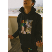 Load image into Gallery viewer, Chill Black Hoodie