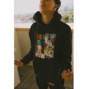 Chill Black Hoodie