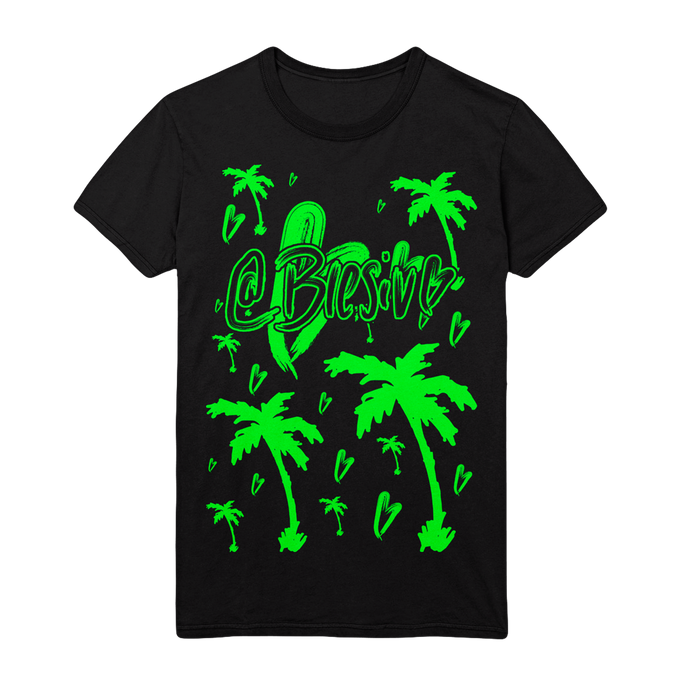 Icon Palms Black T-Shirt