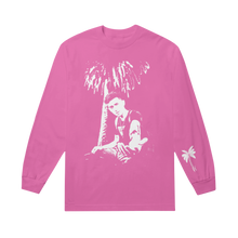 Load image into Gallery viewer, Stencil Pink Long Sleeve Tee