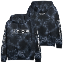 Load image into Gallery viewer, Better Days Black Tie Dye Hoodie