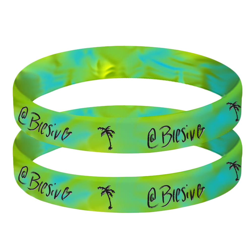 @Blesiv Tie Dye Bracelet (Set Of 2)