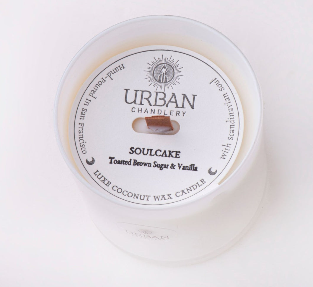 SOULCAKE - Toasted Brown Sugar & Vanilla Luxe Candle