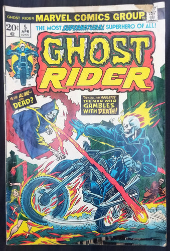 Ghost Rider No. 5, Marvel Comics, April 1974