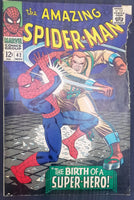 "The Amazing Spiderman No. 42, ""The Birth of a Super-Hero,"" Marvel Comics, November 1966"