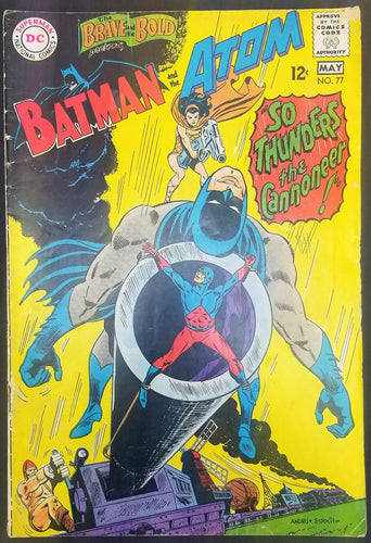 The Brave and the Bold No. 77, Starring Batman & The Atom, DC Comics, May 1968