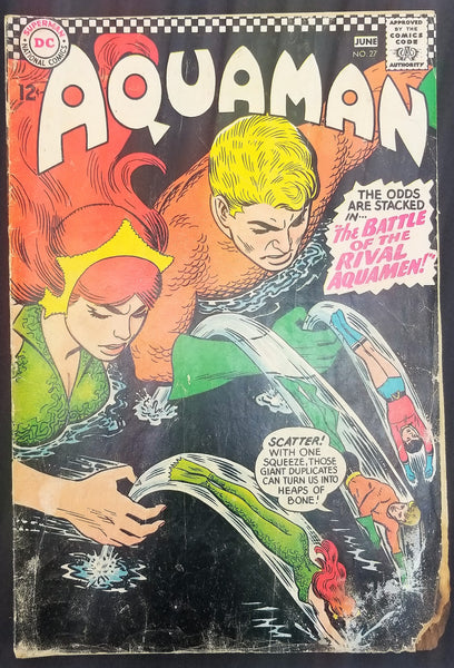 "Aquaman No. 27, ""The Battle of the Rival Aquamen,"" DC Comics, June 1966"