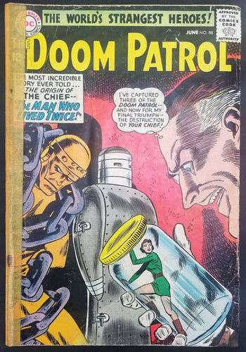 Doom Patrol No. 88,