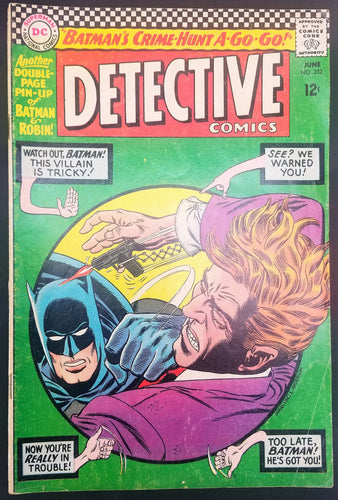 Detective Comics No. 352, Starring Batman, DC Comics, June 1966