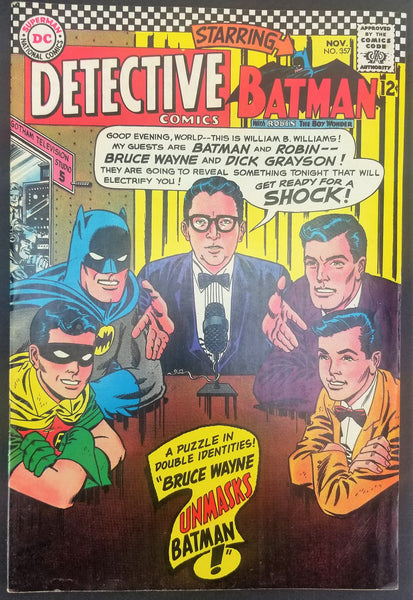 Detective Comics No. 357, Starring Batman, DC Comics, November 1966