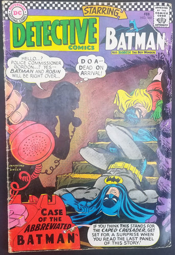 Detective Comics No. 360, Starring Batman, DC Comics, February 1967