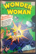 "Load image into Gallery viewer, Wonder Woman No. 163, ""Danger--Wonder Woman!"" DC Comics, July 1966"