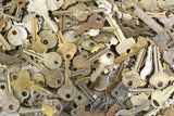 Assorted Vintage Flat Keys