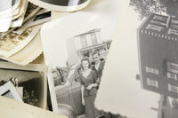 Assorted Vintage Black and White Photographs