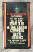 U.S. Riot Commission Report (Report on the National Advisory Commission on Civil Disorders), Copyright 1968