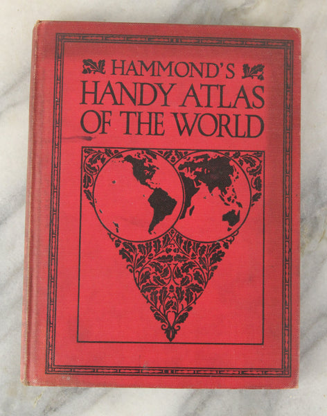 Hammond's Handy Atlas of the World, 1928