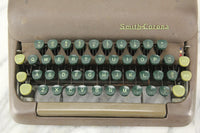 Smith-Corona Silent 5S Series Portable Typewriter with Case, 1952