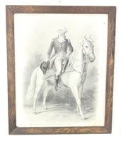 George Washington, Chief Commander of the Continental Army Frame Print - 17.75 x 21.5""