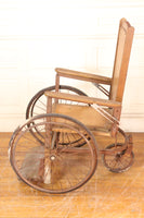 Antique Wooden Wheelchair No. 865N by Gendron Wheel Company, 1940s